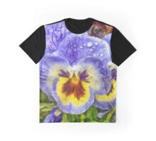 Pansy Pencil Graphic T-Shirt