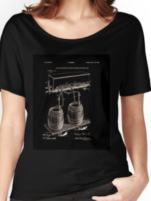 Art Of Brewing Beer Patent Women's Relaxed Fit T-Shirt