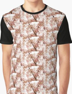 Pink Cherry Blossoms - Impressions Of Spring Graphic T-Shirt