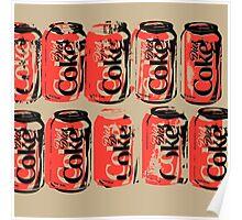 Diet Coke Can III Poster