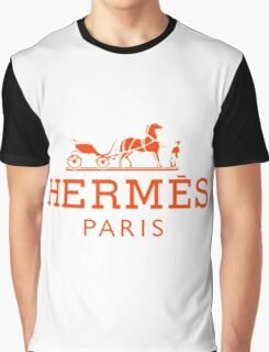 Hermes Paris  Graphic T-Shirt