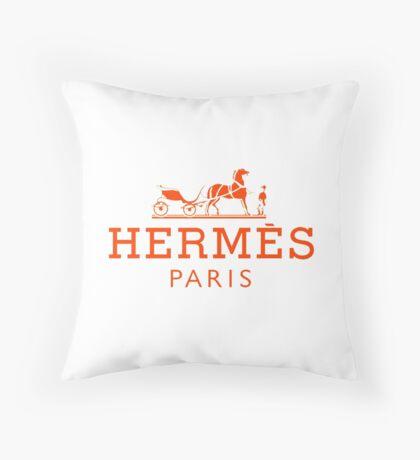 Hermes Paris  Throw Pillow
