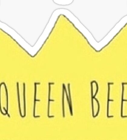 Queen Bee Crown Sticker