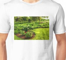 Lush Green Gardens - the Beauty of June Unisex T-Shirt