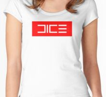 Dice. Co Women's Fitted Scoop T-Shirt