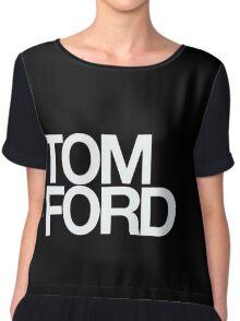 TOM FORD #fashion Chiffon Top