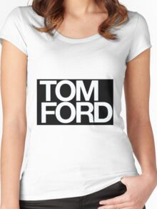 TOM FORD #fashion Women's Fitted Scoop T-Shirt