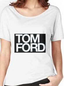 TOM FORD #fashion Women's Relaxed Fit T-Shirt