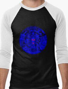 Alien Mandala Blue Men's Baseball ¾ T-Shirt