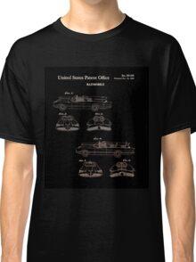 Batmobile Car Patent 1966 Classic T-Shirt