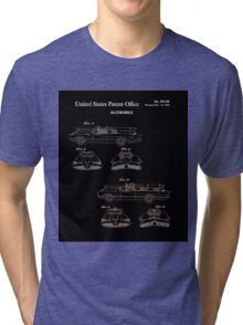 Batmobile Car Patent 1966 Tri-blend T-Shirt