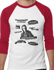 John Murphy + Quotes Men's Baseball ¾ T-Shirt