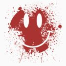 Acid House Smiley Face - Grunge by Chairboy