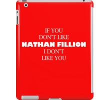 I like Nathan Fillion iPad Case/Skin