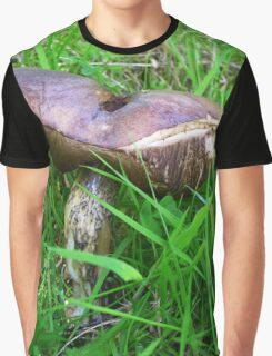 Mushroom at Urquhart Graphic T-Shirt