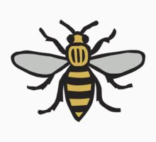 Manchester Bee, Classic Edition One Piece - Short Sleeve
