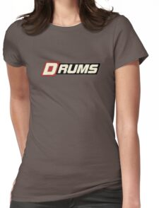 Cool Old Drums Womens Fitted T-Shirt