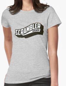 DUCATI SCRAMBLER Womens Fitted T-Shirt