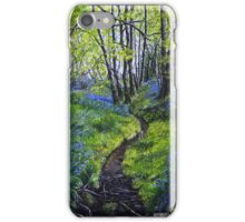 Bluebells and Brook iPhone Case/Skin