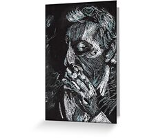 Gainsbourg Portrait Greeting Card