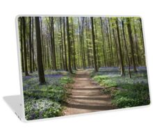 Violet Forest - Nature Photography Laptop Skin