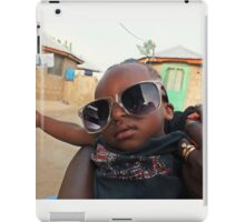 Cool African Boy from Ghana, West Africa iPad Case/Skin