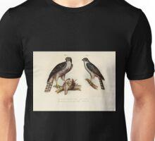 Bilder atlas zur Wissenschaftlich populären Naturgeschichte der Vögel in ihren sämmtlichen Hauptformen Leopold Joseph Fitzinger 1864 019 Unisex T-Shirt