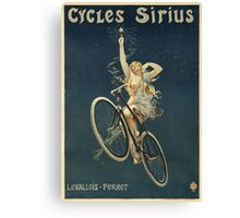 Vintage famous art - Henri Gray - Cycles Sirius Canvas Print