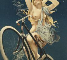 Vintage famous art - Henri Gray - Cycles Sirius Sticker