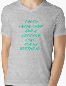 WEDDING COAT FOR YOUR BIRTHDAY Mens V-Neck T-Shirt