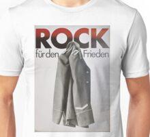 Rock fuer den Frieden, DDR Plakat, East German Propaganda poster Unisex T-Shirt