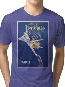 Vintage famous art - Henri Gray - Phebus Paris Poster Tri-blend T-Shirt