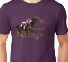 Nyquist 2016 Champion Horse Racing Unisex T-Shirt