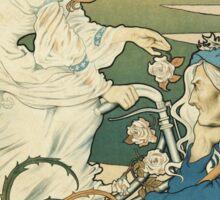 Vintage famous art - Henri Thiriet - Cycles Et Accessoires Griffiths Poster Sticker
