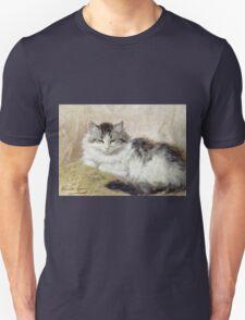 Vintage famous art - Henriette Ronner - A Cat Unisex T-Shirt