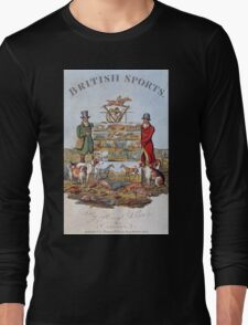 Vintage famous art - Henry Alken - The National Sports Of Great Britain Long Sleeve T-Shirt