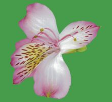 Beautiful tiger lily Kids Tee
