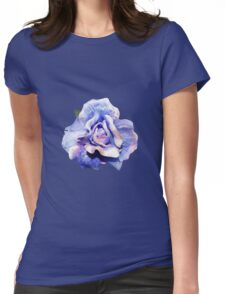 Cosmic rose Womens Fitted T-Shirt