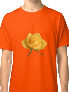 Beautiful yellow rose Classic T-Shirt