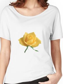 Beautiful yellow rose Women's Relaxed Fit T-Shirt