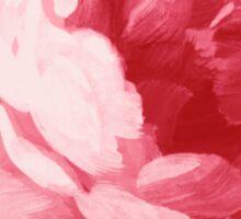 Flower pink peony Sticker