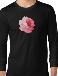 Flower pink peony Long Sleeve T-Shirt