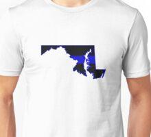 Maryland Police Support Unisex T-Shirt