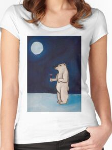 It Was a Beary Good Year Women's Fitted Scoop T-Shirt
