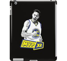 Steph Curry - NBA MVP x2 iPad Case/Skin