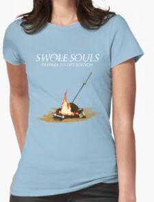 Swole Souls - Bonfire Womens Fitted T-Shirt