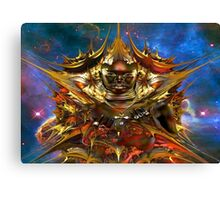 Golden Star Canvas Print