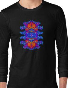 Abstract Reflections Long Sleeve T-Shirt
