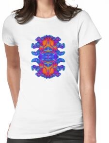 Abstract Reflections Womens Fitted T-Shirt