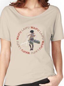 Waifu Laifu Anime Shirt Women's Relaxed Fit T-Shirt